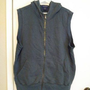 !!SALE!!$15 Zip-up Hooded Vest by Charter Club